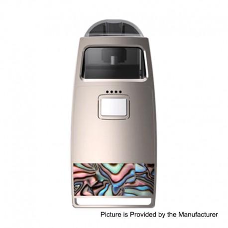 Authentic Pioneer4You iPV Aspect 750mAh Pod System Vape Starter Kit - Champagne, 1.0ohm, 2.0ml