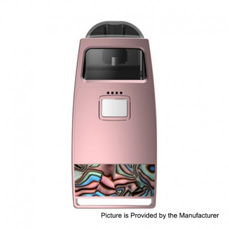 Authentic Pioneer4You iPV Aspect 750mAh Pod System Vape Starter Kit - Pink, 1.0ohm, 2.0ml