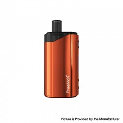Authentic FreeMax Autopod50 50W 2000mAh VW Box Mod Pod System Vape Starter Kit - Coral, 0.25ohm / 0.5ohm, 4ml, 5~50W