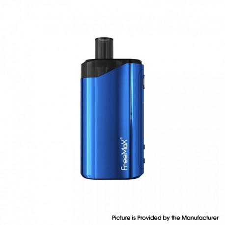 Authentic FreeMax Autopod50 50W 2000mAh VW Box Mod Pod System Vape Starter Kit - Blue, 0.25ohm / 0.5ohm, 4ml, 5~50W