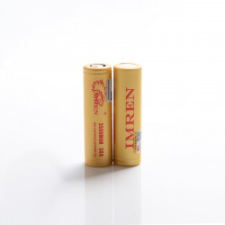[Ships from Battery Warehouse] Authentic IMREN 3500mAh 30A 18650 Rechargeable Lithium Battery for Mod / Mod Kit - (2 PCS)