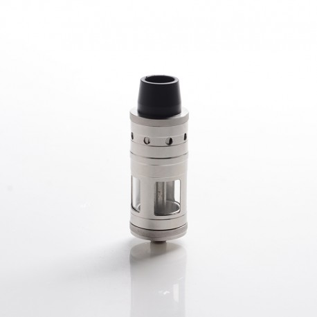 Taifun BT Style RTA Rebuildable Tank Vape Atomizer - Silver, Stainless Steel, 5ml, 23mm Diameter