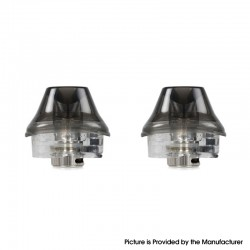 Authentic OXVA X Pod System Vape Kit Replacement Empty Pod Cartridge - Black, 2ml (2 PCS)