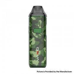 Authentic OXVA X 40W 1600mAh Pod System Vape Starter Kit - Polar Camouflage Green, Zinc Alloy, 2ml, 0.3ohm / 0.5ohm