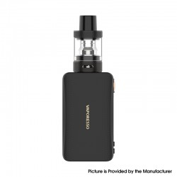 Authentic Vaporesso Gen Nano 80W 2000mAh TC VV VW Mod Vape Starter Kit with GTX Tank 22 - Black, 3.5ml, 0.2ohm / 0.6ohm, 5~80W