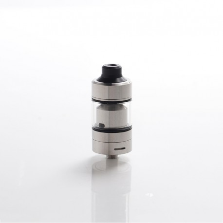Tripod Style RTA Rebuildable Tank Atomizer - Silver, 316 Stainless Steel, 2ml, 22mm