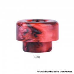 Authentic Wotofo Profile Unity RTA Replacement 810 Drip Tip - Red, Resin