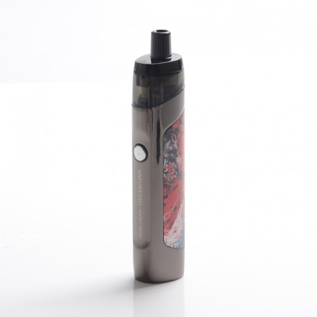 Authentic Vaporesso TARGET PM30 1200mAh MTL Box Mod Pod System Vape Starter Kit - Red, 3.5ml, 0.6ohm / 1.2ohm