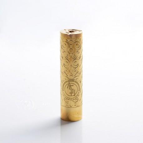 Authentic asMODus Rose Finch Vape Mechanical Mod - Brass, Brass, 24.5mm Diameter, 1 x 18650