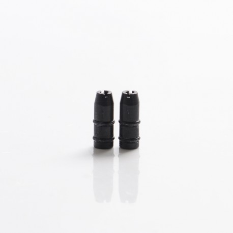 SXK 316 Stainless Steel Wicks-DLC with O-rings for SXK / YFTK Flash e-Vapor V4.5S+ RTA - Black (2 PCS)
