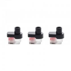 Authentic SMOKTech SMOK RPM Lite Pod System Vape Kit Replacement Empty RPM Pod Cartridge - Black + Transparent, 3.2ml (3 PCS)