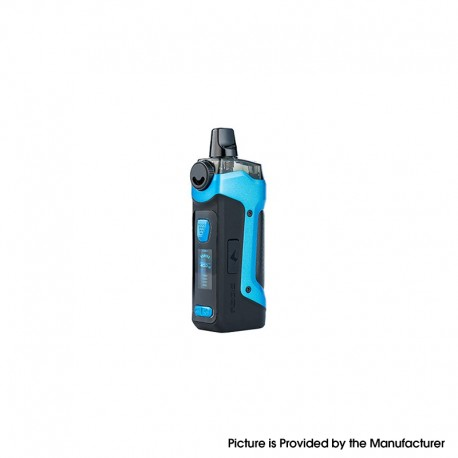 Authentic GeekVape Aegis Boost Plus 40W TC VW Mod Pod System Vape Starter Kit - Almighty Blue, 5~40W, 200~600'F, 1 x 18650