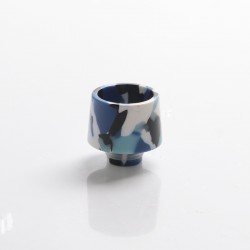 Authentic Reewape AS301 Replacement 510 Drip Tip for RDA / RTA / RDTA / Sub-Ohm Tank Atomizer - Royal Blue, Resin, 17mm