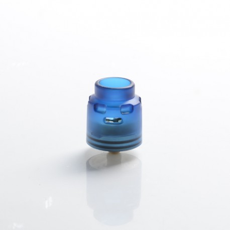 Authentic Hellvape Dead Rabbit SE RDA Rebuildable Dripping Vape Atomizer w/ BF Pin - Blue, PCTG + SS, 24mm Diameter