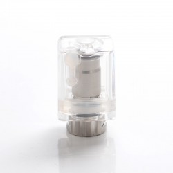 Authentic Wellon Beyond AIO Pod System Vape Kit Replacement RBA Coil Head - Silver, Stainless Steel (1 PC)