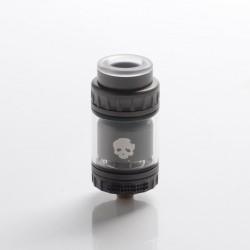 Authentic Dovpo x Vaping Bogan Blotto Mini RTA Rebuildable Tank Vape Atomizer - Gunmetal, Glass + PCTG, 2ml/4ml, 23.4mm Diameter