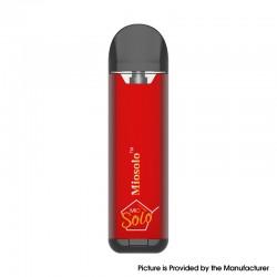 Authentic Sense Miosolo 480mAh Pod System Vape Starter Kit - Red, 2ml