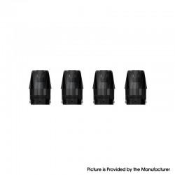 Authentic ZQ Xtal Vape Pod System Pod Cartridge - 1.8ml, 1.2ohm (4 PCS)