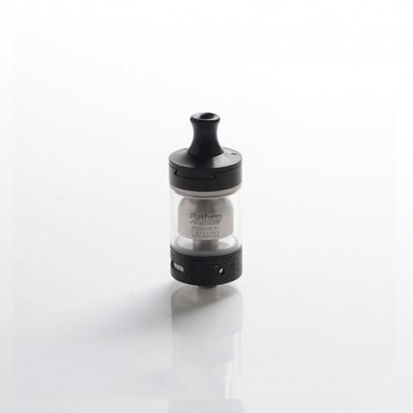 Authentic Innokin Ares 2 D24 MTL RTA Rebuildable Tank Vape Atomizer - Black, Stainless Steel + Glass, 4.0ml, 24mm Diameter