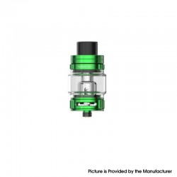Authentic SMOKTech SMOK TFV9 Sub Ohm Tank Clearomizer Vape Atomizer - Green, 6.5ml, 0.15ohm, 28mm Diameter