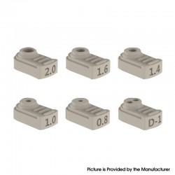 Authentic Vandy Vape Berserker BSKR V2 RTA Replacement Airflow Insert Tube - D-1 / 0.8 / 1.0 / 1.4 / 1.6 / 2.0mm (6 PCS))
