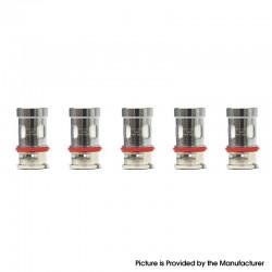 Authentic VapeSoon PnP-VM4 Coil Head for Voopoo VINCI X / PnP 20/22 / VINCI AIR / Drag S / Drag X - 0.6ohm (20~28W) (5 PCS)
