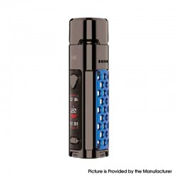 Authentic Wismec R40 40W 1700mAh VW Variable Wattage Pod System Mod Vape Starter Kit - Sapphire, 3.0ml, 0.3ohm / 0.8ohm