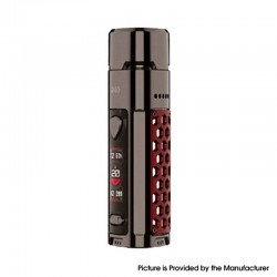 Authentic Wismec R40 40W 1700mAh VW Variable Wattage Pod System Mod Vape Starter Kit - Red, 3.0ml, 0.3ohm / 0.8ohm