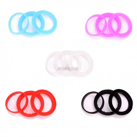 Authentic Kanger Seal O-rings for Subtank Plus - Multicolored, Silicone, (5 Set)