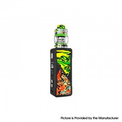 Authentic FreeMax Maxus 100W TC VW Box Mod + Fireluke 3 Tank Vape Kit Resin Edition - Green, 5~100W, 1 x 21700/20700/18650, 5ml
