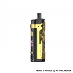 Authentic SMOKTech SMOK SCAR-P5 80W VW Box Mod Pod System Vape Starter Kit - Fluid Gold, 5~80W, 1 x 18650