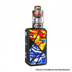 Authentic FreeMax Maxus 200W TC VW Box Mod + M Pro 2 Tank Atomizer Vape Kit - Red Blue, Resin, 1/2 x 18650, 5~200W, 5ml