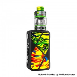 Authentic FreeMax Maxus 200W TC VW Box Mod + M Pro 2 Tank Atomizer Vape Kit - Orange Green, Resin, 1/2 x 18650, 5~200W, 5ml