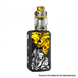 Authentic FreeMax Maxus 200W TC VW Box Mod + M Pro 2 Tank Atomizer Vape Kit - Yellow Black, Resin, 1/2 x 18650, 5~200W, 5ml