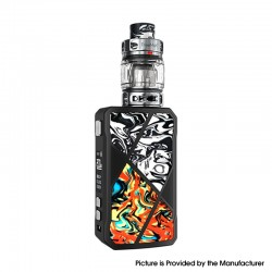 Authentic FreeMax Maxus 200W TC VW Box Mod + M Pro 2 Tank Atomizer Vape Kit - Black Orange, Resin, 1/2 x 18650, 5~200W, 5ml