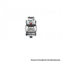 Authentic FreeMax Fireluke 3 Sub Ohm Tank Clearomizer Vape Atomizer - Black, SS + Resin, 0.2ohm, 5ml, 28.2mm Diameter