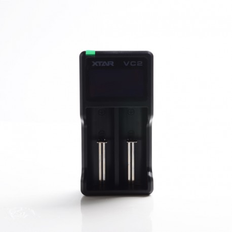 Authentic XTAR VC2 Charger for 3.6V / 3.7V Li-ion / IMR/INR/ICR: 18350, 18490, 18500, 18650, 18700, 20700, 21700 Batteries, etc.