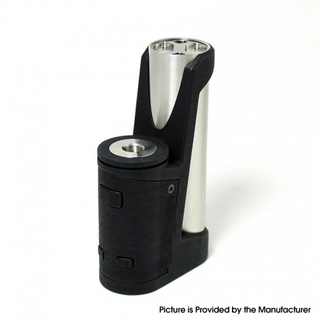 SXK Insider DB Killer Style 70W TC VW Variable Wattage Stealth Vape Box Mod - Black, 5~70W, 200~600'F / 100~300'C, 1 x 18650