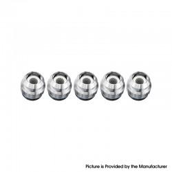Authentic FreeMax 904L X1 Mesh Coil Head for Fireluke 3 Sub Ohm Tank Vape Atomizer - 0.15ohm (40~80W) (5 PCS)