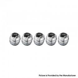 Authentic FreeMax 904L X2 Mesh Coil Head for Fireluke 3 Sub Ohm Tank Vape Atomizer - 0.5ohm (20~50W) (5 PCS)