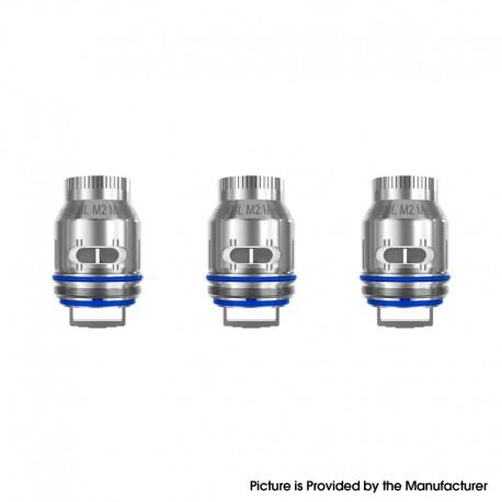 Authentic FreeMax 904L M2 Mesh Coil Head for M Pro 2 Tank / M Pro Tank Vape Atomizer / Maxus 200W Kit - 0.2ohm (3 PCS)