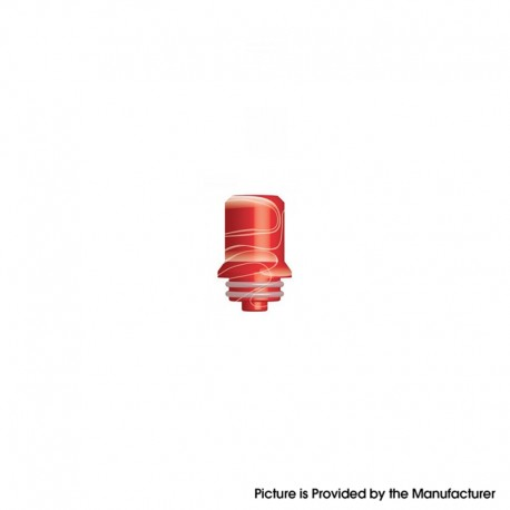 Authentic Innokin Replacement Drip Tip for 22mm / 24mm Zlide Sub Ohm Tank Vape Atomizer - Red