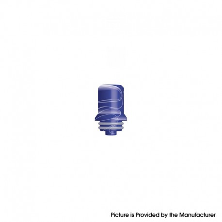 Authentic Innokin Replacement Drip Tip for 22mm / 24mm Zlide Sub Ohm Tank Vape Atomizer - Blue