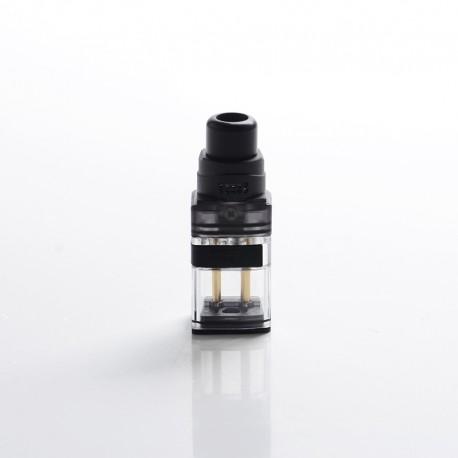 Authentic Vandy Vape Kylin M AIO Mod RBA Pod System Vape Kit Replacement DIY Pod Cartridge w/ 5 Steel Wires - Black, 5ml (1 PC)