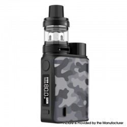 Authentic Vaporesso SWAG II 80W VW Box Mod w/ NRG PE Tank Atomizer Vape Kit - Camo Grey, 5~80W, 1 x 18650, 3.5ml, 0.15 / 0.5ohm