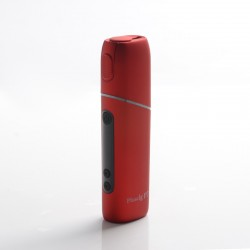 Authentic SMY Pluscig P7 3500mAh TC Heat-Not-Burn Vape Starter Kit - Red, High Temperature Resistant Plastic, 250~330'C
