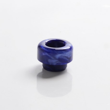 Authentic Wotofo Profile Unity RTA Replacement 810 Drip Tip - Marble Blue, Resin