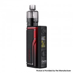 Authentic VOOPOO Argus GT 160W TC VW Variable Wattage Box Mod + PnP Pod Tank Vape Kit - Black + Red, 5~160W, 4.5ml, 2 x 18650