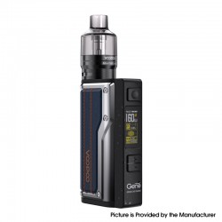 Authentic VOOPOO Argus GT 160W TC VW Variable Wattage Box Mod + PnP Pod Tank Vape Kit - Dark Blue, 5~160W, 4.5ml, 2 x 18650