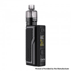 Authentic VOOPOO Argus GT 160W TC VW Variable Wattage Box Mod + PnP Pod Tank Vape Kit - Carbon Fiber, 5~160W, 4.5ml, 2 x 18650